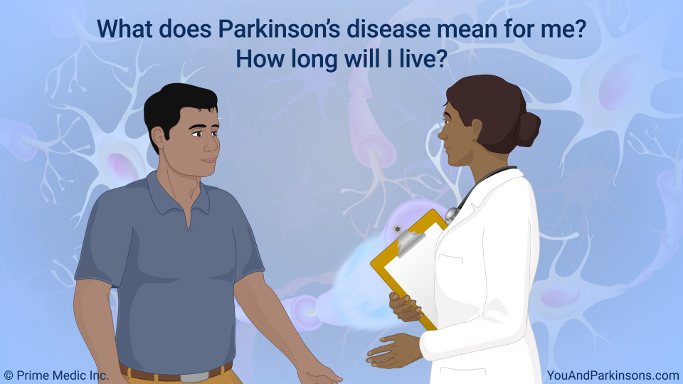 What does Parkinson's disease mean for me? How long will I live?