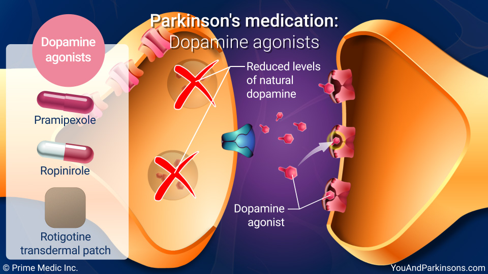 Parkinson's medication: Dopamine agonists