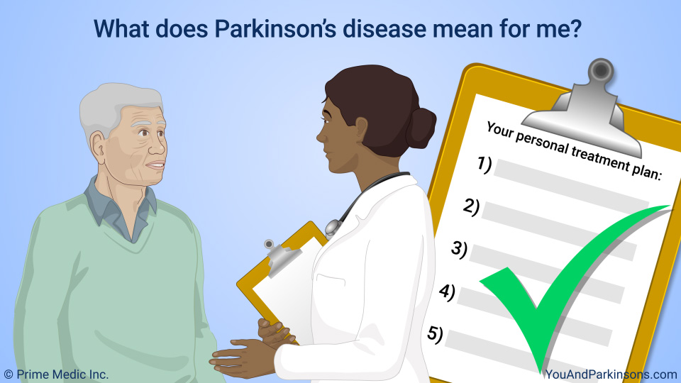 What does Parkinson's disease mean for me?