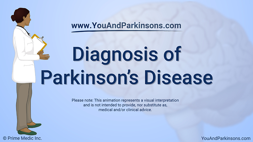 Animation - Diagnosis of Parkinson's Disease